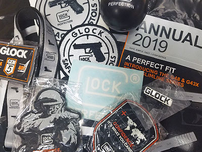 Glock Award Package items ADFG HEDR MQP 2019
