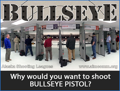 Why Shoot Bullseye Pistol?
