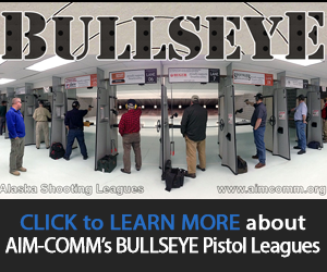 Learn more about AIM-COMM's Bullseye Pistol Leagues